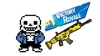 Sans Undertale gets a *Victory Royale* in FORTNITE!
