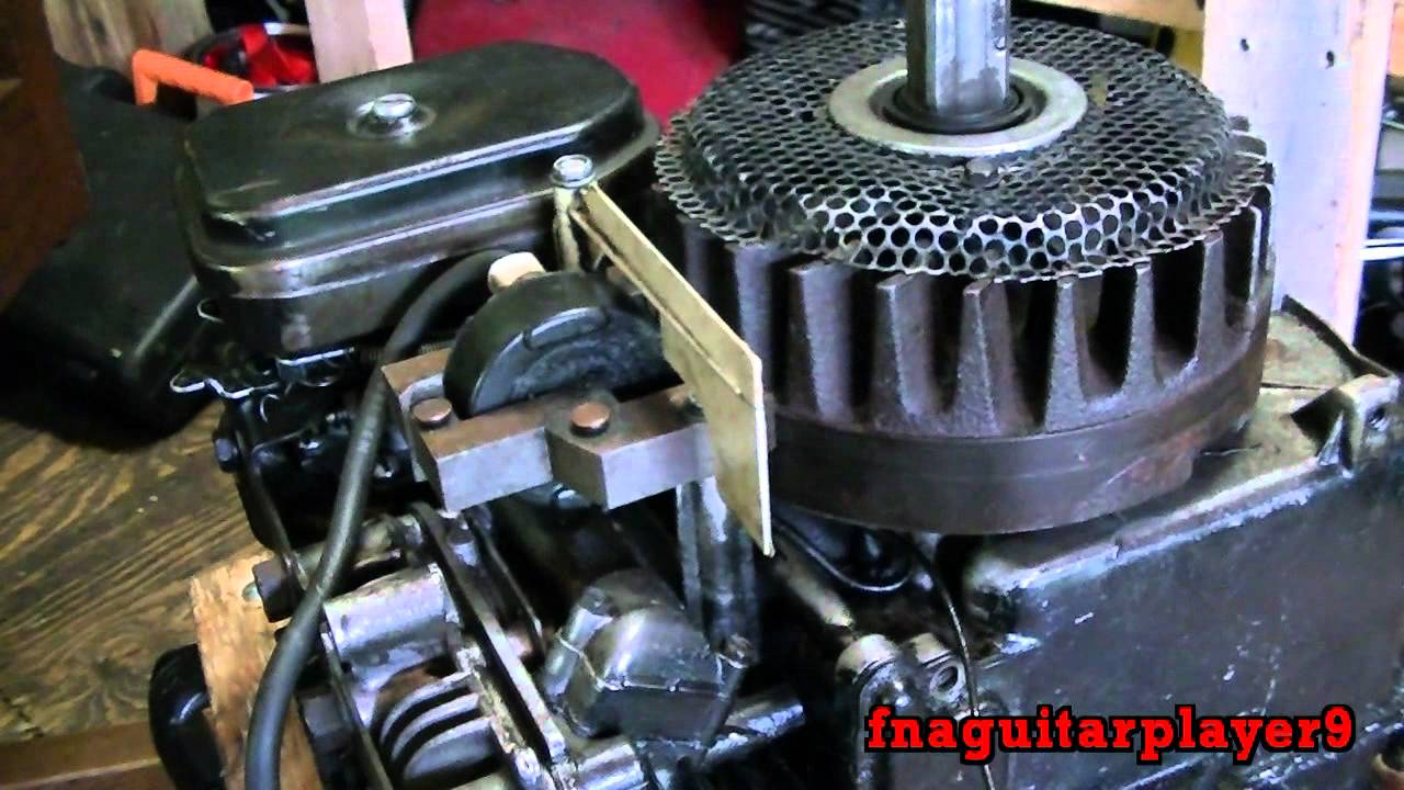 How to tell if a engine has points and condensor or newer electronic  ignition (magnetron)
