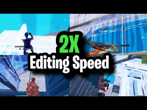 *NEW* EDITING TIPS TO DOUBLE YOUR EDITING SPEED! Console/Keyboard ~ Fortnite (How To Edit Faster)
