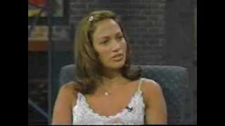 Jennifer Lopez First Time @ Cristina Show part 1