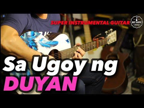Sa Ugoy Ng Duyan Ala Lea Salonga Instrumental Guitar Karaoke Cover With Lyrics