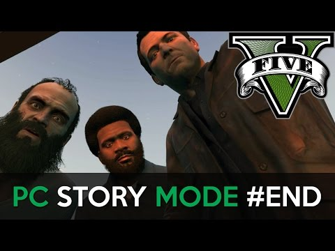 GTA 5 Indonesia - GOODBYE - Story Mode Tamat