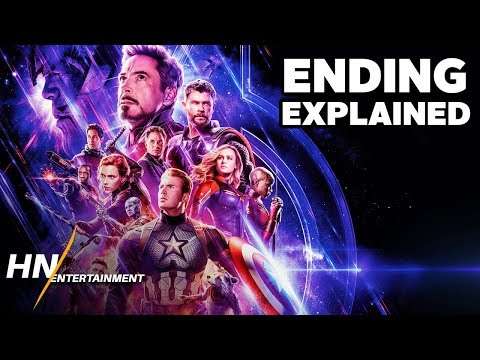 AVENGERS: ENDGAME Ending Explained - How It Sets Up Marvel's Phase 4