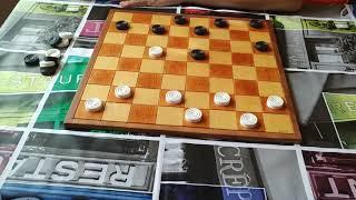 """Как играть в шашки! Дебют """"кол"""". Начинающим. Идеальная позиция. Рассказывает чемпион Андрей Валюк. +"""