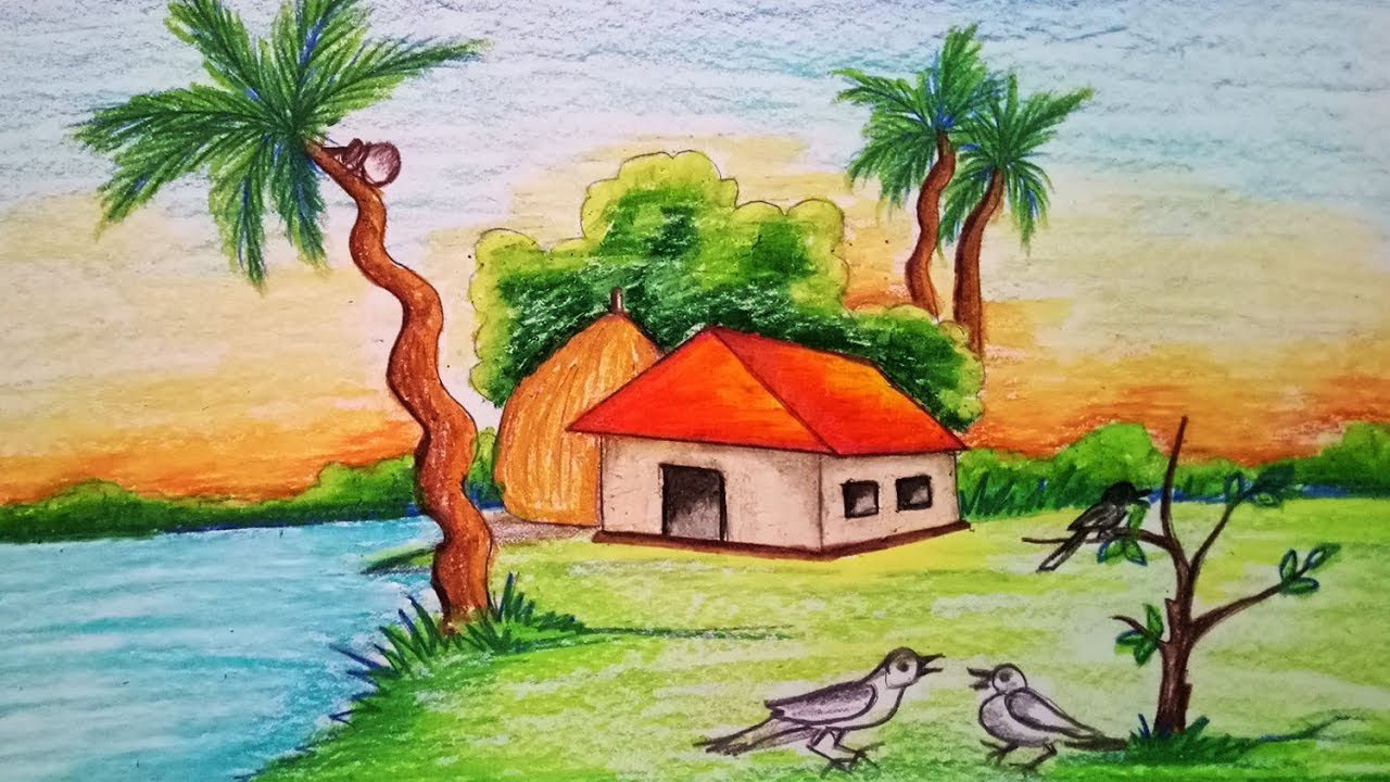 How To Draw Scenery Of Winter Morning Step By Step Easy Draw Youtube How to make play scenery village scene morning by duttaditya18 how to make play scenery village scene morning by duttaditya18 on deviantart sasha. how to draw scenery of winter morning step by step easy draw