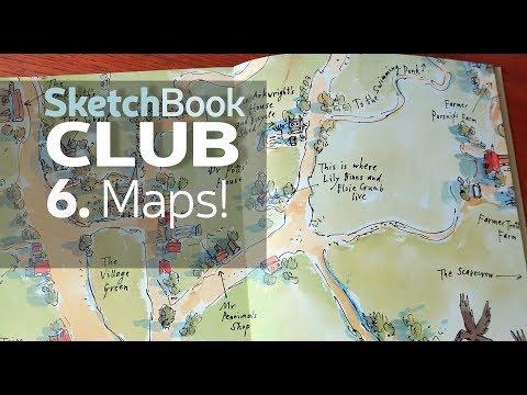 Sketchbook Club 6: Maps