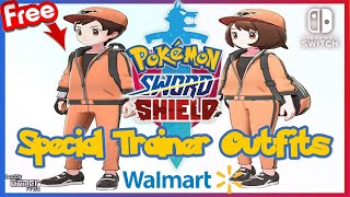 Walmart Special Trainer Outfit For Pokemon Sword And Shield Via The Pokemon Pass App