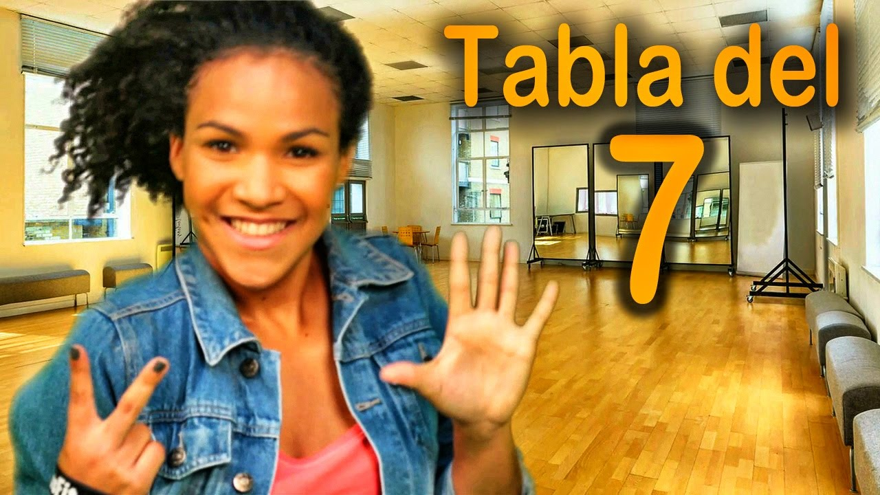 Canción De La Tabla Del 7 Las Tablas De Multiplicar Al Estilo Urbano Videos Educativos Youtube