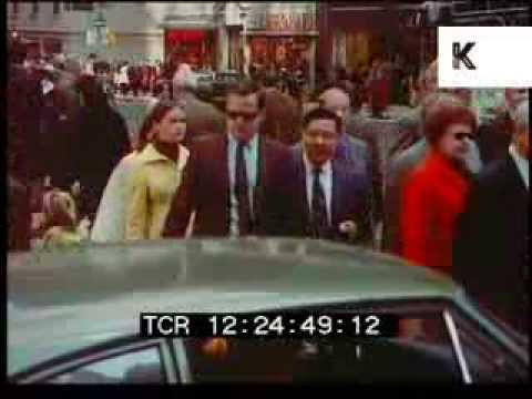 1970 New York, Busy Streets, Manhattan, 1960s, 1970s, 35mm Archive Footage