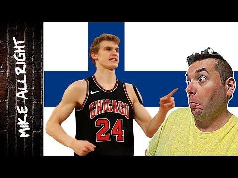 Lauri Markkanen: Learning Finnish with NBA Rookie - Basketball words - Language Challenge! (2018)