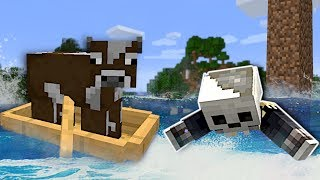 THE OCEAN NEVER STOPS RISING! - Minecraft Multiplayer Gameplay