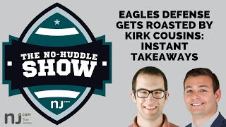 Eagles get roasted by Kirk Cousins in Vikings loss: Instant takeaways