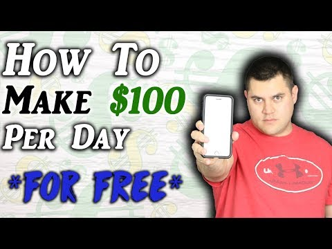 How To Make Money Online In 2019 For FREE ($100+ Per Day)