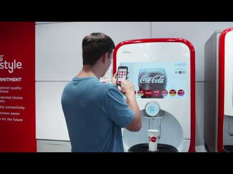 wine article CocaCola Freestyle Mobile Pour  Contactfree pouring with your smart phone