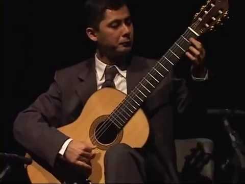 Manuel Ponce - Cuatro Piezas para guitarra (1932) - Gilson Antunes, guitar