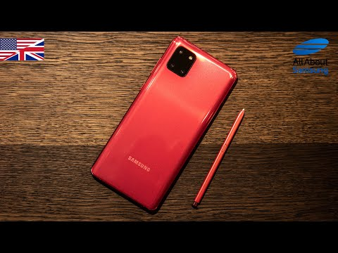 Samsung Galaxy Note10 Lite Hands On english 4k