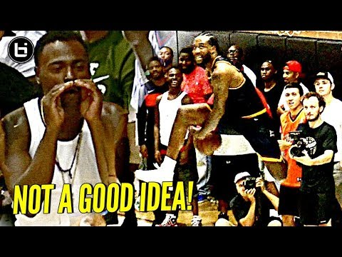 Thumbnail: DON'T TALK TRASH TO NBA PLAYERS! DeMar, JaVale McGee, Julius & Swaggy P Have Fun w/ Trash Talkers!