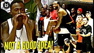 Don't talk trash to nba players! demar, javale mcgee, julius & swaggy p have fun w/ trash talkers!