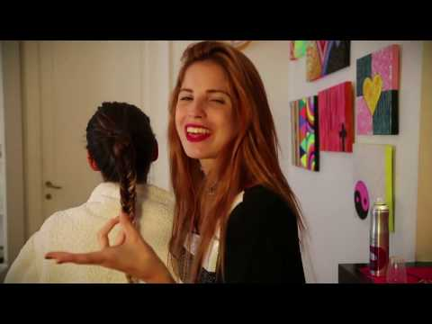 Candelaria Molfese Tutorial de peinados: Pelo suelto, pelo atado EP39