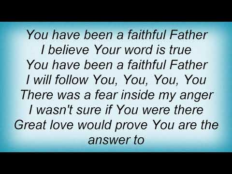 Twila Paris - Faithful Father Lyrics