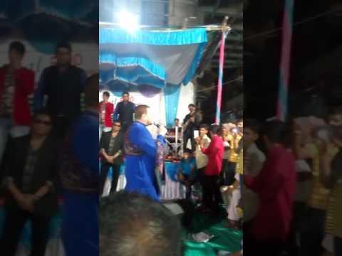Nitin Mukesh and Sabbir kumar at Vadodara song So Gaya ye Jaha from Tejab