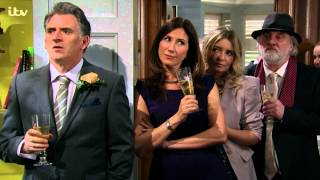 Brenda Collapses At Gennie And Nikhil's Wedding - Emmerdale