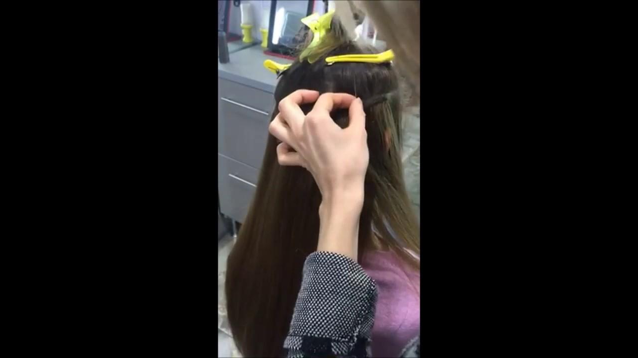 Наращивание волос BELLARGO - YouTube