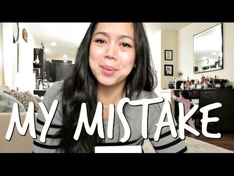 MY MISTAKE! - October 17, 2016 -  ItsJudysLife Vlogs