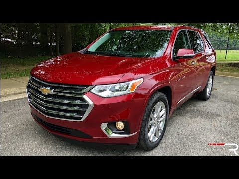 2019 Chevrolet Traverse High Country – Large Families ...