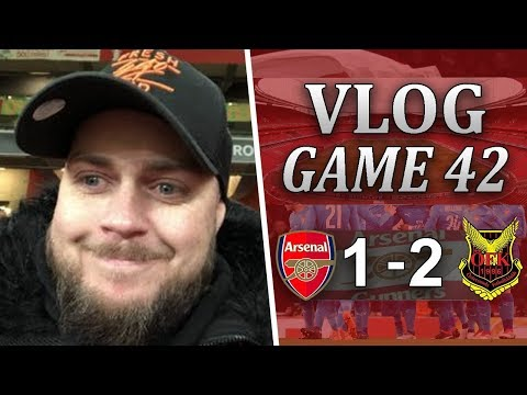 ARSENAL 1 v 2 ÖSTERSUNDS FK - WE WERE SUPERB TONIGHT - MATCHDAY VLOG