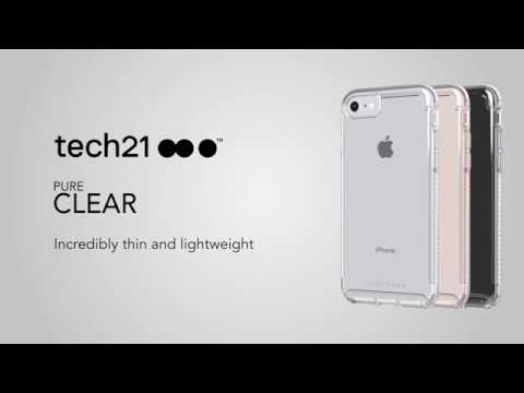 timeless design 10180 124d8 Tech21 Pure Clear iPhone 7/8, 7/8 Plus