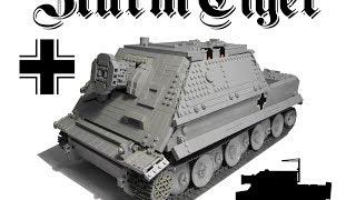 Lego SturmTiger 1/15 (RC)