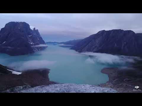 Infinity Glacier Greenland Mavic Pro HD