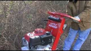 Little Wonder® Hydro Brush Cutter Clears Overgrown Vegetation with Ease