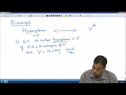 Lec31 Dimension equality and examples