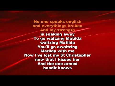 Rod Stewart   Tom Trauberts Blues Waltzing Matilda