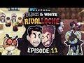 bYE bYE bIRDIE   Pokemon Black and White Rival Locke w/ ShadyPenguinn and MrTalent #11