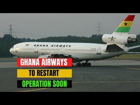 Ghana Signs Deal To Relaunch Ghana Airways