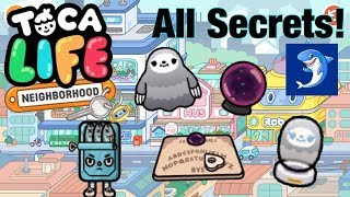 Toca life neighbourhood | All Secrets!!