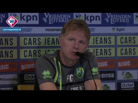 Persconferentie Fons Groenendijk voor VVV - ADO Den Haag