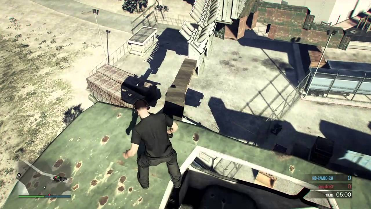 How in GTA (GTA) do parkour 81