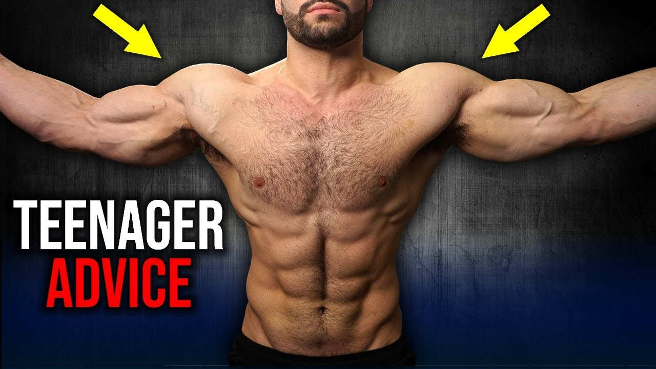 Teenager Gym Advice to GET JACKED (WORKOUT LIKE THIS!!)