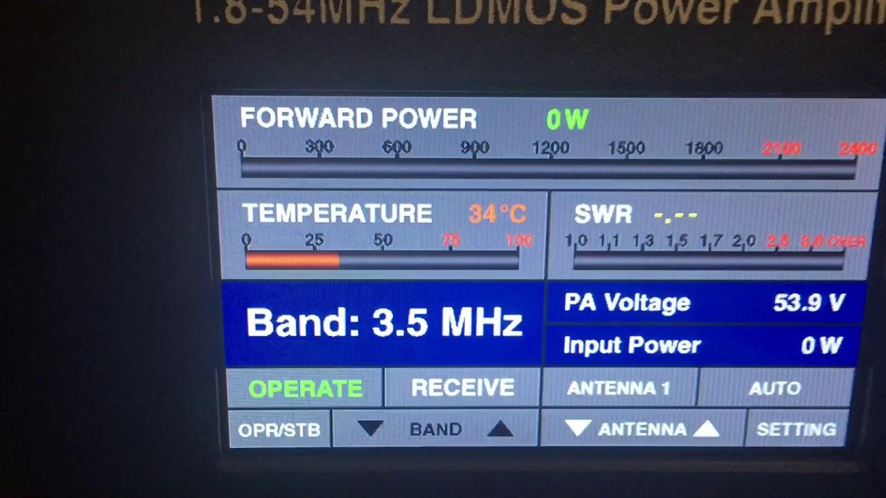 BURST 2000A - HF power amplifier