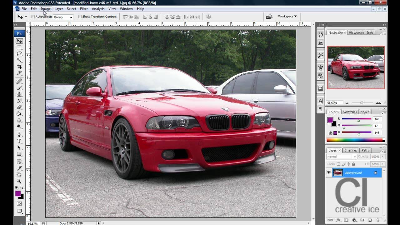 How To Change The Color Of A Car In Photoshop Photoshop Wonderhowto