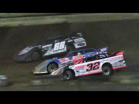 ULMS Super Late Model Heat Three | Hesston Speedway | 7-1-17