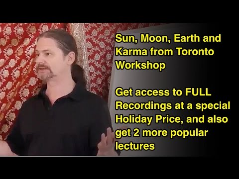Sun, Moon and Earth in Vedic Astrology