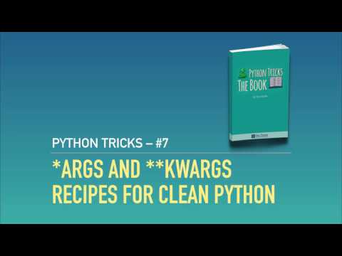 Optional Arguments In Python With *args And **kwargs