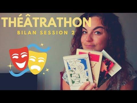 THÉÂTRATHON | Bilan de la session 2 🎭