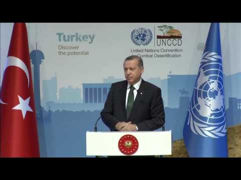Conference of the Parties of UN Convention to Combat Desertification in Ankara