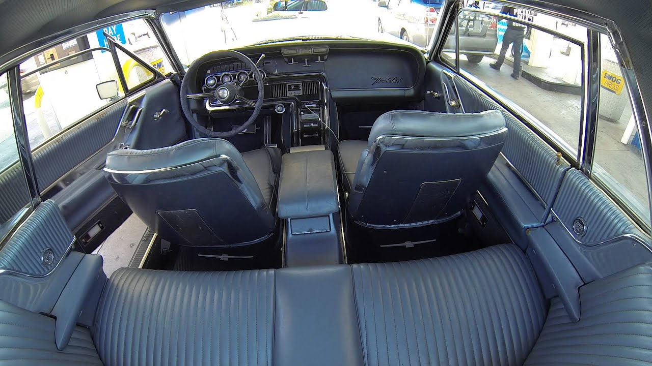 1965 Ford Thunderbird Front Seat Upholstered Install 64 66